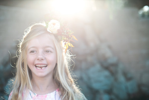 boho flower girl - Belle & Kai
