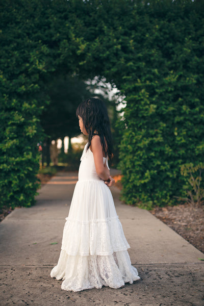 bohemian chic white lace maxi dress boho chic dresses for girls