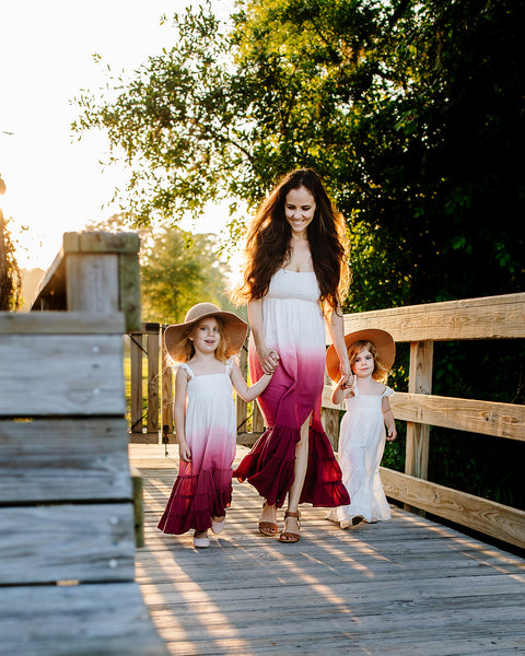 boho mother daughter matching dresses