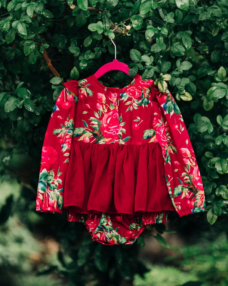 Ruby Rose Holiday Romper