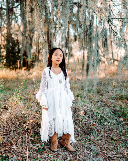belle and kai boho girl dresses