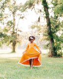 bohemian fall little girls dress toddler flower girl mustard dress