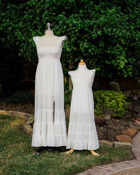 boho mommy and me maxi dresses
