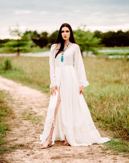 Esme Embroidered Maxi Dress