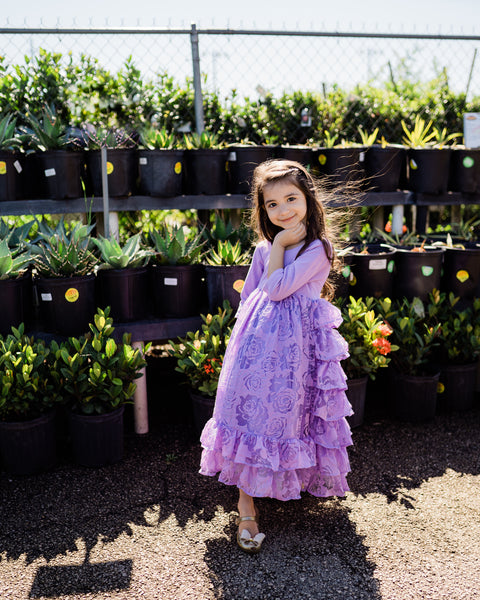 country rustic flower girl lavender dress vintage junior bridesmaid dresses