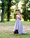 lavender rustic floral girls Easter dress flower girl dress