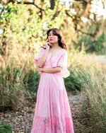 Seraphina Maxi Dress in Pink (Adult)