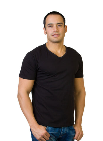 Basic V Neck T-Shirt