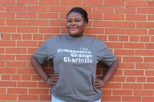 "Compassion, Change, Charlotte - the ""I Am"" Shirt Series"