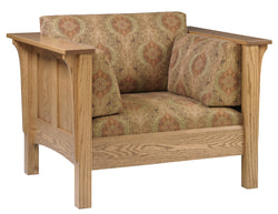 Shaker Prairie Panel Deluxe Lounge Chair - Harvest Home Interiors