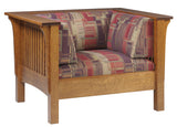 Image of Stickley inspired Mission Arts and Crafts Prairie Spindle Chair from Harvest Home Interiors Amish Furniture