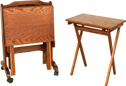 Amish TV Trays - Harvest Home Interiors