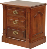 Image of customizable, solid wood Legacy Nightstand from Harvest Home Interiors Amish Furniture