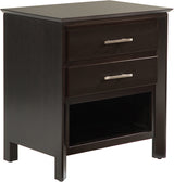 Image of customizable, solid wood Zenith Nightstand from Harvest Home Interiors Amish Furniture