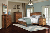 Image of customizable Barn Floor Reclaimed Wood Bedroom Set from Harvest Home Interiors Amish Furniture