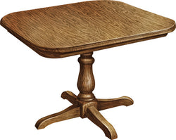 Boston Single Pedestal Table - Harvest Home Interiors