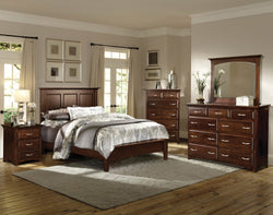 Image of customizable, solid wood Buckeye Collection Bedroom Set from Harvest Home Interiors Amish Furniture
