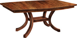 Carlisle Shaker Extended Pedestal Table - Harvest Home Interiors
