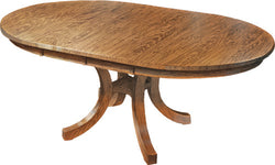 Carlisle Shaker Pedestal Table - Harvest Home Interiors