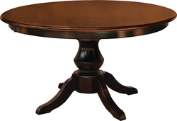 Denver Single Pedestal Table - Harvest Home Interiors