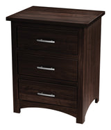 Image of customizable, solid wood Tersigne Mission Nightstand from Harvest Home Interiors Amish Furniture