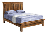 Image of customizable Barn Floor Shaker Style Bed with Low Footboard from Harvest Home Interiors Amish Furniture