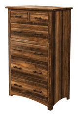 Image of customizable, solid wood Barn Floor Shaker Style Chest of Drawers from Harvest Home Interiors Amish Furniture