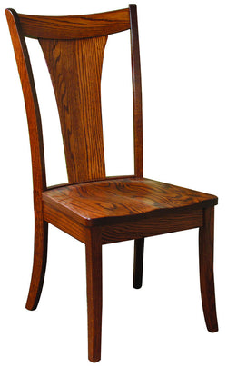 Solid wood, handcrafted Falcon Side Chair from Harvest Home Interiors Amish Furniture