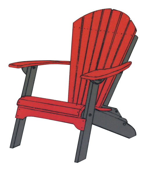 Folding Adirondack Chair - Harvest Home Interiors