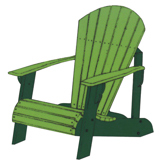 Lowboy Adirondack Chair - Harvest Home Interiors