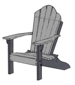 Youth Adirondack Chair - Harvest Home Interiors