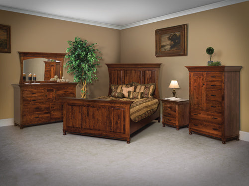 Image of customizable, solid wood Henry Stephen's Bedroom Collection from Harvest Home Interiors Amish Furniture