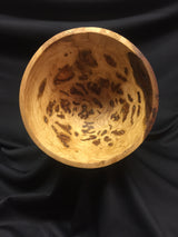 Cherry Burl Hand Turned Bowl - Harvest Home Interiors