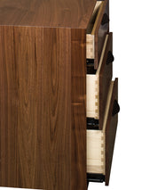 Image of customizable, solid wood detail of drawers on Kenton Bedroom Collection from Harvest Home Interiors Amish Furniture