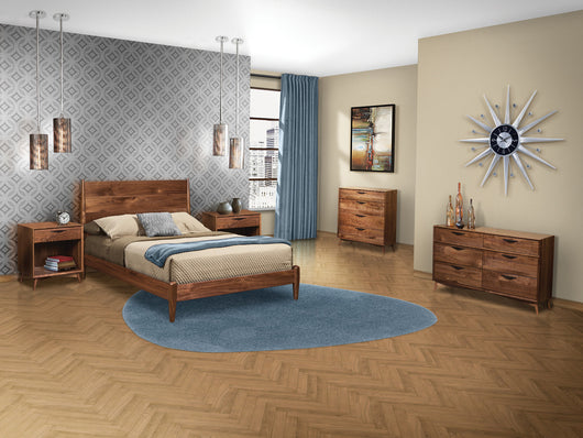 Image of customizable, solid wood Kenton Bedroom Collection from Harvest Home Interiors Amish Furniture
