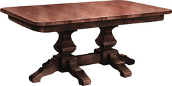 Kingston Double Pedestal Table - Harvest Home Interiors