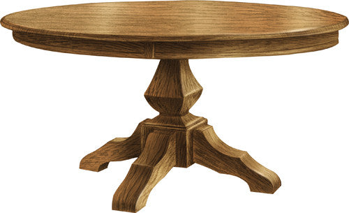 Kingston Pedestal Table - Harvest Home Interiors