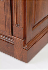 Image of customizable, solid wood close up of detail from Legacy Bedroom Collection from Harvest Home Interiors Amish Furniture