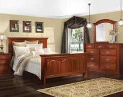 Image of customizable, solid wood Legacy Bedroom Collection from Harvest Home Interiors Amish Furniture
