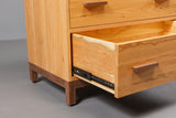 Dovetailed Drawer Detail of East Metro Solid Wood & Handcrafted Bedroom Furniture from Harvest Home Interiors