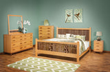 East Metro Mission Style Handcrafted Bedroom Set from Harvest Home Interiors