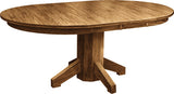 Mission Single Pedestal Table - Harvest Home Interiors