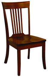 OW 5 Slatted Shaker Dining Chair - Harvest Home Interiors