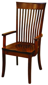 OW Shaker with Bent Paddle Dining Chair - Harvest Home Interiors