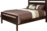 Image of customizable, solid wood Zenith Bed from Harvest Home Interiors Amish Furniture