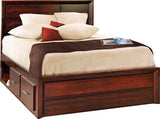 Image of customizable, solid wood optional Zenith Platform Bed from Harvest Home Interiors Amish Furniture