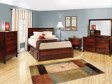 Image of customizable, solid wood Zenith Bedroom Collection from Harvest Home Interiors Amish Furniture