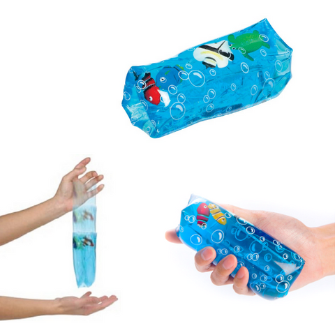 Sensory Tube sea life water wiggler