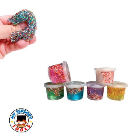 Mini Confetti Putty