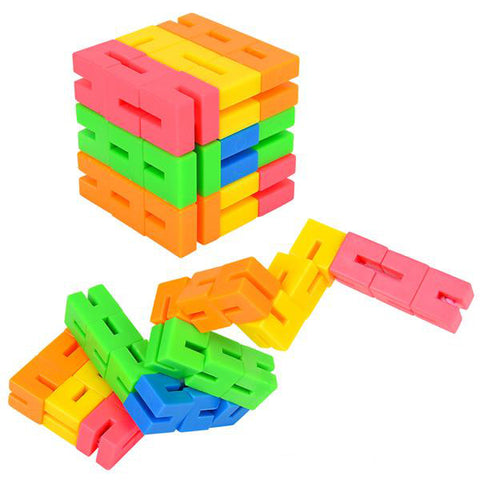 Colorful fidget puzzle - My Sensory Tools